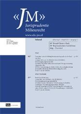 Cover Jurisprudentie Milieurecht