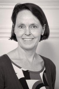 Profielfoto Selma in zwart-wit